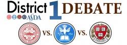 5th Annual Debate – ASDA District 1