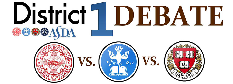 5th Annual Debate – ASDA District 1